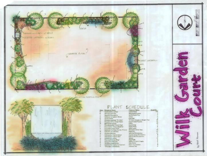Wilkinson Garden Court Design