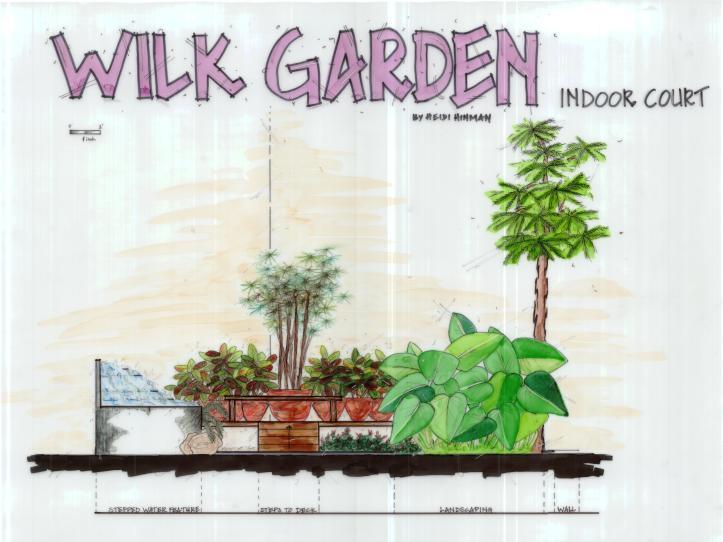 Wilkinson Garden Court Elevation View