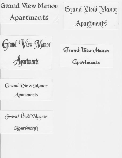 GVM Sign Names